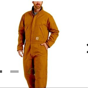 Carhartt Washed Duck insulated coveralls